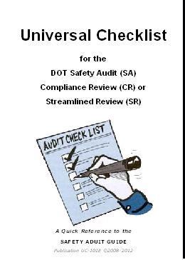 Universal Checklist